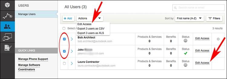 Autodesk Account Profile Management 3