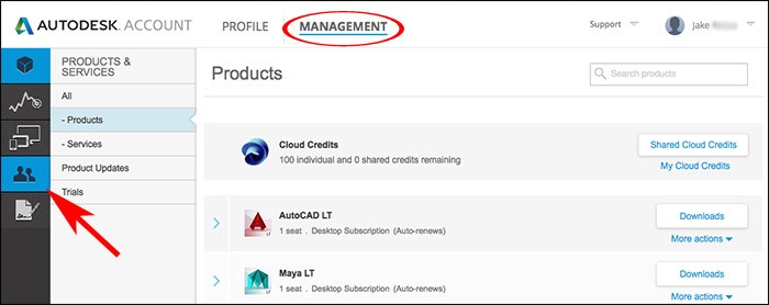 Autodesk Account Profile Management
